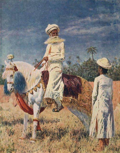 Василий Васильевич Верещагин - Всадник в Джайпуре. Около 1880