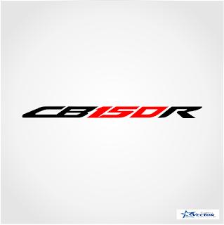 CB 150R Logo Vector cdr