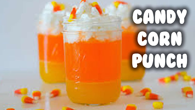 How To make Halloween Candy Corn Punch