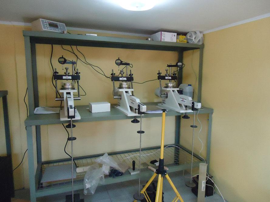 Ensayo prueba de consolidaci n de suelos unidimensional for Consolidacion de suelos