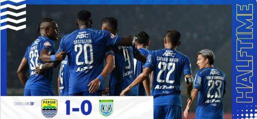 HT: Persib Bandung vs Persela Lamongan 1-0 Highlights