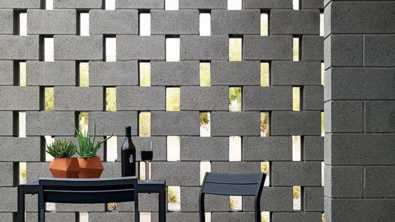 huerto con block de concreto