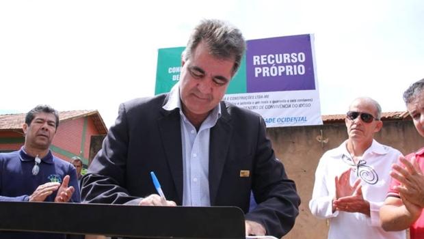 Governo do prefeito Fábio Correa em Cidade Ocidental já executou 30 obras com recursos próprios