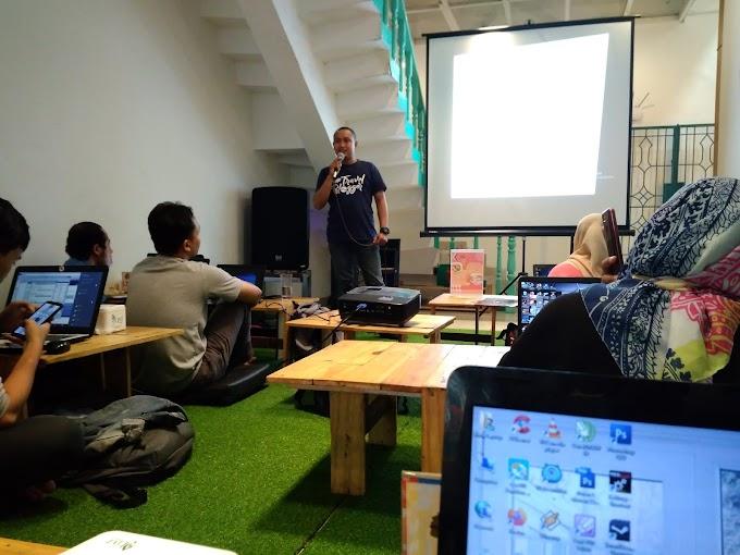 Kyokue Ikut Belajar SEO di Kelas Blogger Medan