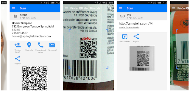 cara scan barcode video