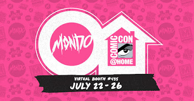 ComicCon@Home Mondo Booth