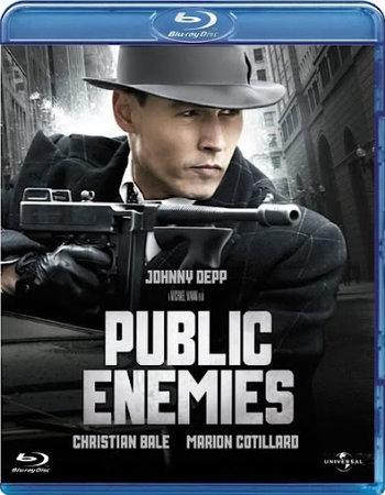 Public Enemies (2009) Dual Audio Hindi 720p BluRay x264 1.1GB ESubs Movie Download