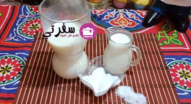 مشروب السوبيا اللذيذ فاطمه ابو حاتي