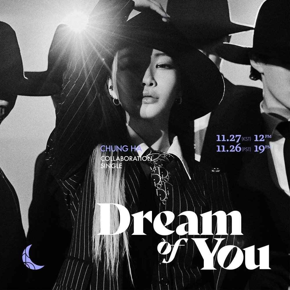 Kim Chung Ha Releases The 1st Teaser Photo for Collaboration Single 'Dream Of You'