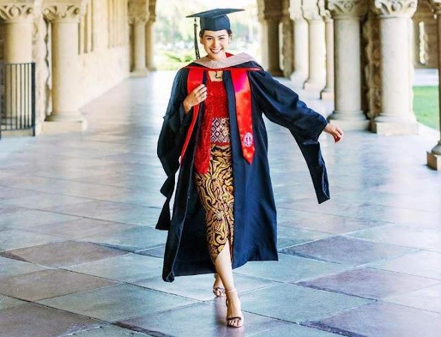 Maudy Ayunda Lulusan S2 Stanford University