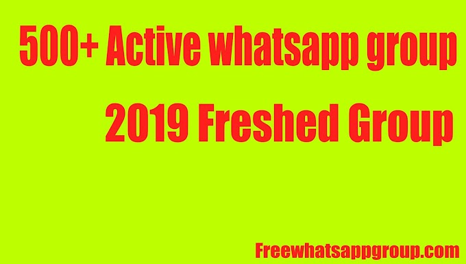 500+ Active whatsapp group link pakistan - 2019 Freshed Group