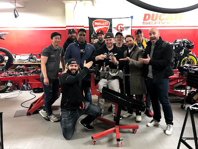 Tigh Loughhead and Gotham Ducati New York on a Streetfighter Engine Teardown