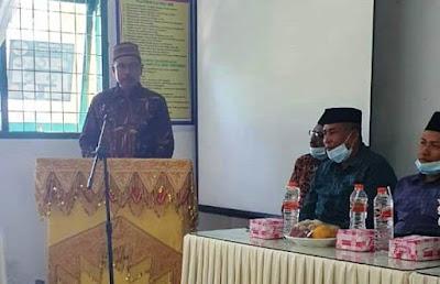 Kakanwil Kemenag Aceh buka pelatihan teknis Administrasi pendidik
