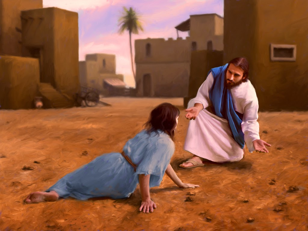 In the Jewish culture of Jesus of Nazareth, women were very low in status. If a women was caught in the act of adultery, she could be stoned - forget about the man's transgressions! The testimony of a woman was useless and never to be taken as truthful.
