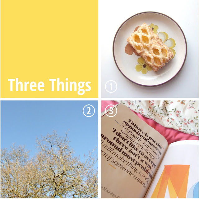 Three Things - Gathering Beauty