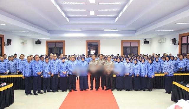 Dewan Pengurus Korpri Polda Jambi Dikukuhkan Oleh Niken Manohara
