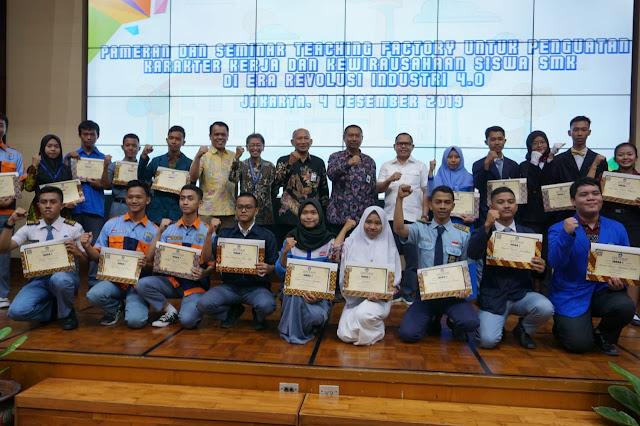 Kemendikbud Gelar Pameran Dan Seminar Hadapi Revolusi Industri 4 0 Smkn 1 Purwodadi