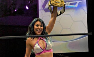 TNA - Maria convierte a Jade en la nueva campeona Knockout