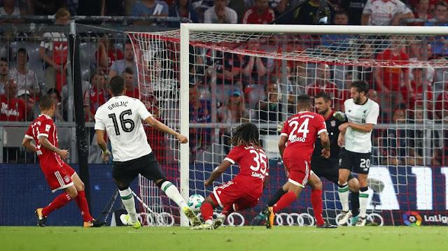 Liverpool Hajar Bayern 3-0