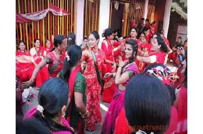 hartalika vrat 2019 अपने पति  के लिये करती है पूजा