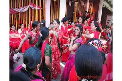 hartalika vrat 2021 अपने पति  के लिये करती है पूजा