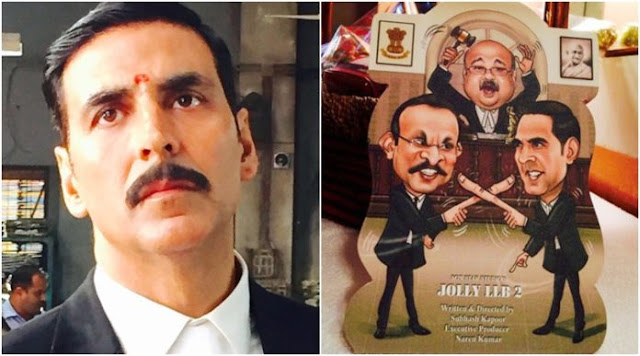 Check Out Akshay Kumar's Look From Jolly LLB 2