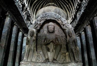 buddhist caves in ellora - Ellora Caves - Aurangabad