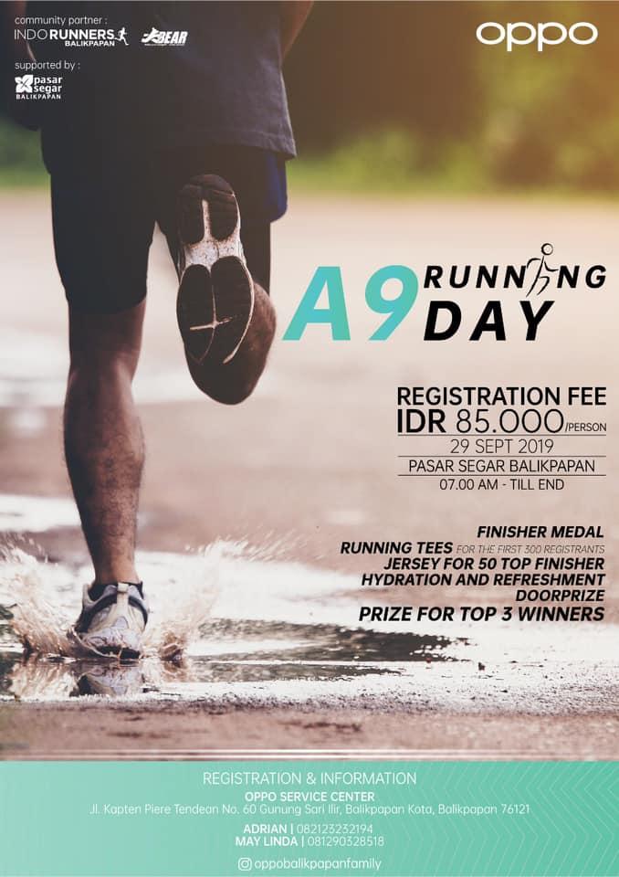 Oppo A9 Running Day • 2019