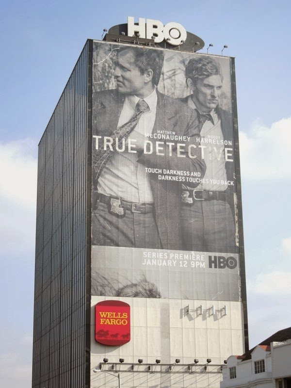 Giant True Detective series premiere billboard