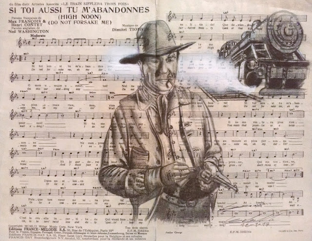 western, cowboy, indien, train