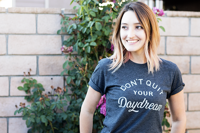 The Home T: Don't Quit Your Daydream Tee