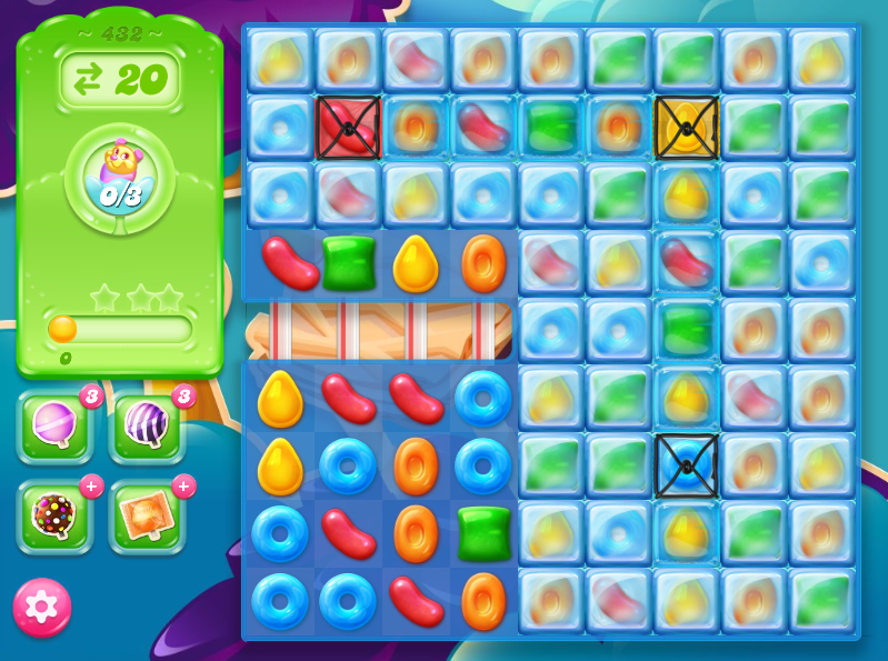 Candy Crush Jelly Saga 432
