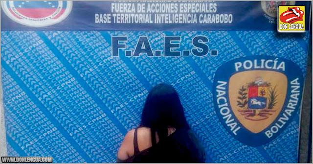 """FAES capturó a una supuesta estafadora conocida como """"La Gorda Ana"""""""