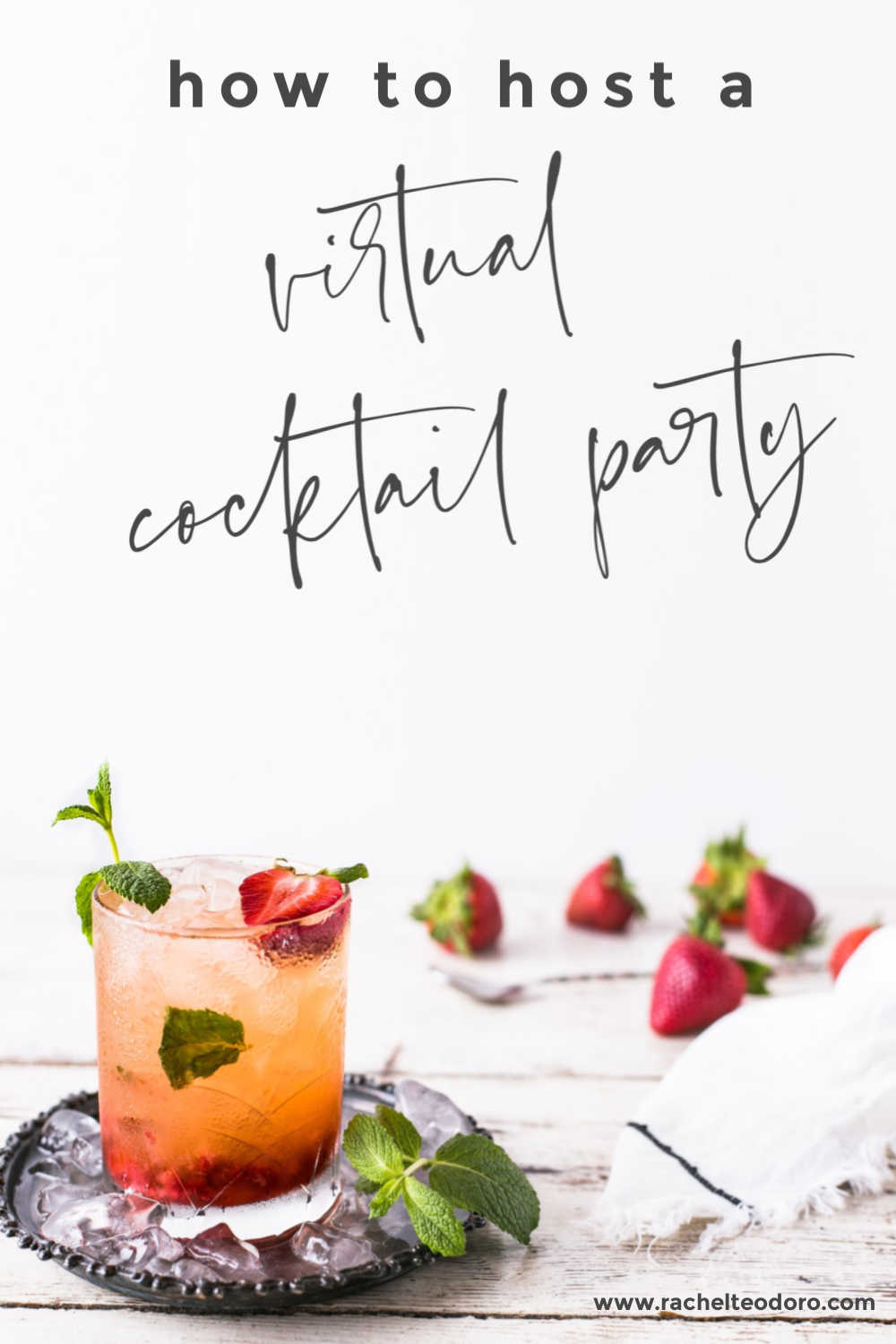 how to host a virtual cocktail hour