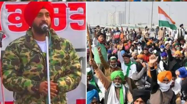 Diljit Dosanjh gave one crore rupees to farmers