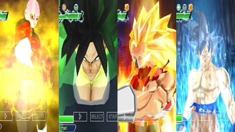 Best Dragon Ball Z Game DBZ TTT MOD BT4 ISO With New Attacks And Model