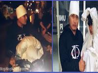 Pocong Gentanyangan Ditangkap Polisi Pemalang
