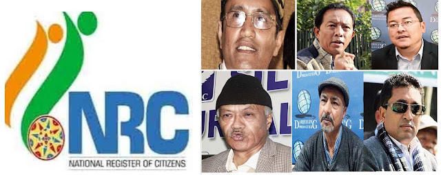 NRC CCA in Darjeeling Politicians view
