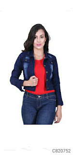 Women's Trendy Full Sleeves Denim Jackets