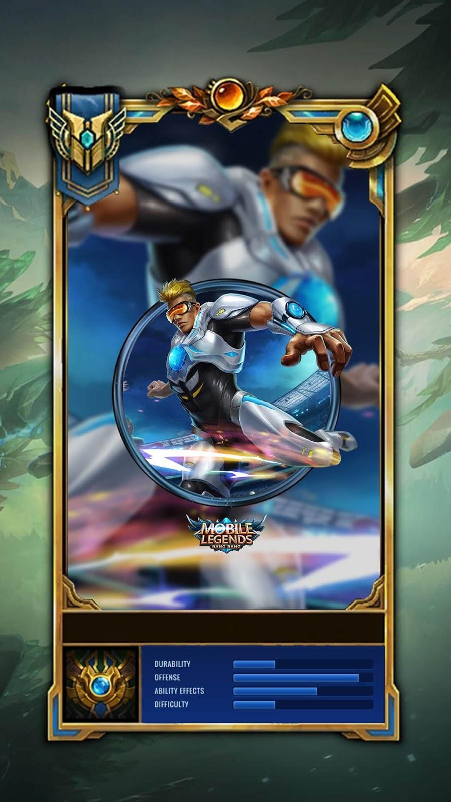 Wallpaper Bruno The Protector Skin Mobile Legends Full HD for Mobile
