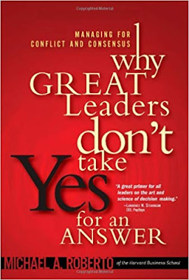 Why Great Leaders Don't Take Yes for an Answer Managing for pdf Download