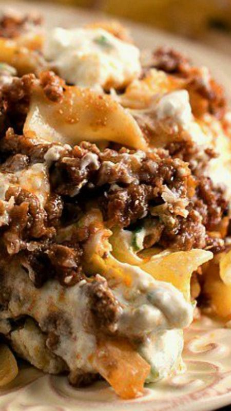 Hamburger Cheese Bake