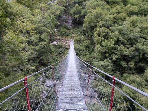 Ponte Tibetano della val Sorda - Gite / Vacanze in Veneto