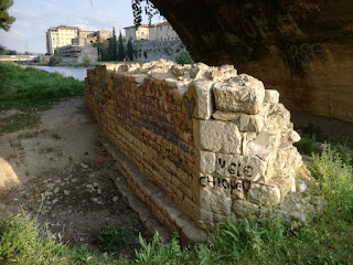 Resti del vecchio Ponte del Mercatale