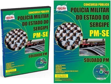 Apostila concurso PM Sergipe - Soldado da PM 2018
