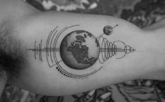 Fabulous Earth Tattoo Ideas and Meanings