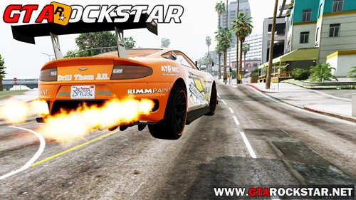 GTA V - Mod Nitro Realista for GTA V PC