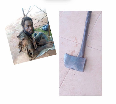 Mentally Challenged Man Axes His Father To Death (Read Full Story)