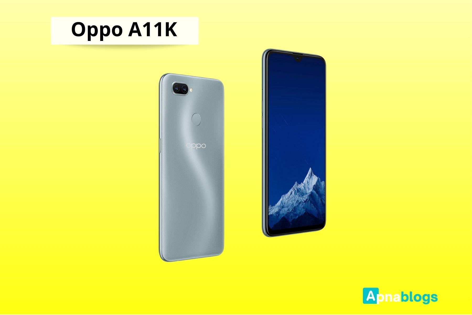 Oppo A11K