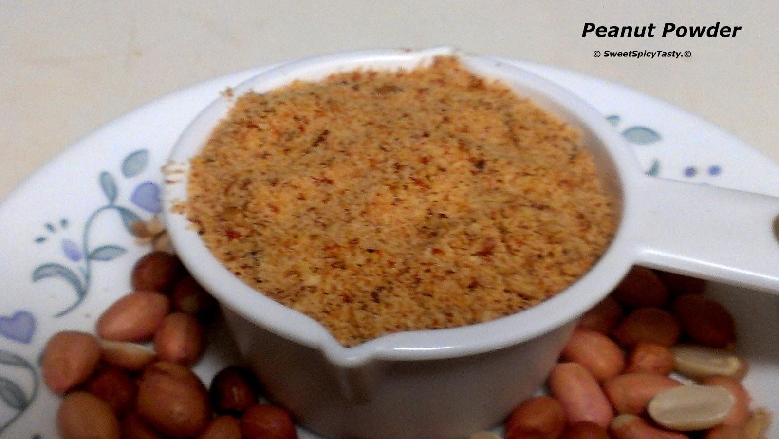 peanut powder, verkadalai podi, shengdhana masala, groundnut masala powder, kadlekaai pudi
